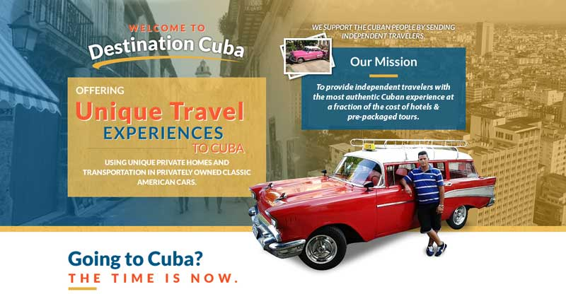 Our Mission: To provide independent travelers with the most authentic Cuban experience at a  fraction of the cost of hotels and pre-packaged tours.